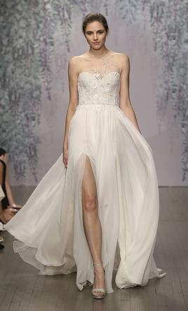 Monique Lhuillier Fairy Wedding Dress Used Size 2 3 000