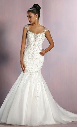 Alfred Angelo Disney Tiana 253 Wedding Dress Sample Size 16 849